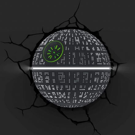 Star Wars Death Star wall decor 3D LED Light